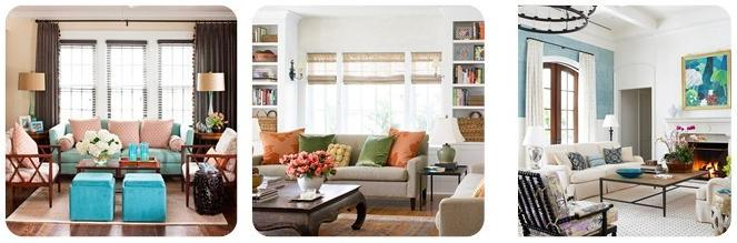 elige primero que colores quieres tener en tu living y basndote en eso puedes hacerte cargo de la decoracin como cuadros cojines sillones alfombras