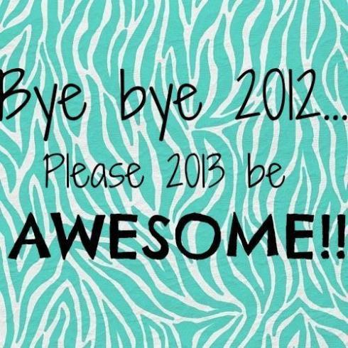 bye bye 2012