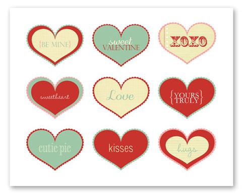 corazones imprimibles