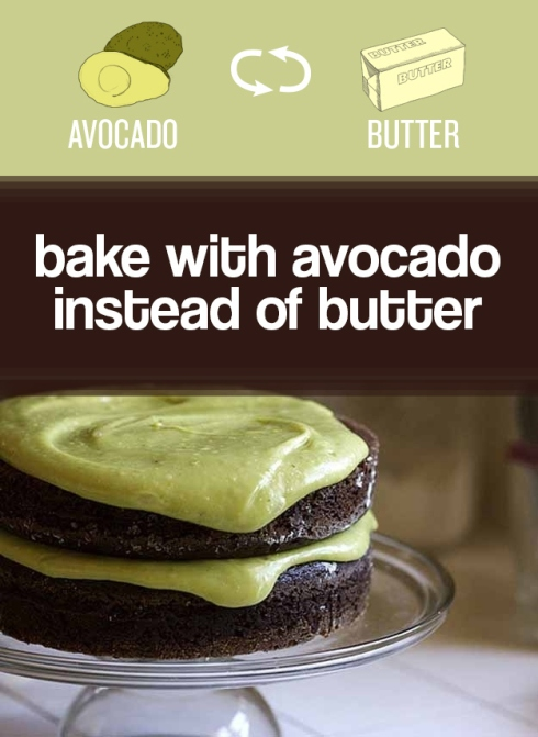 avocado and butter