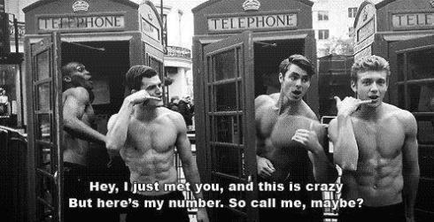 i just met you