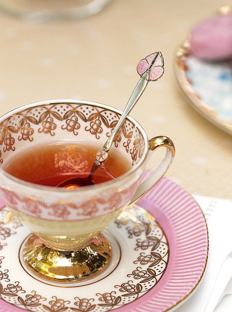 lovely tea cup
