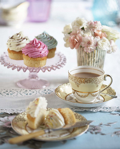 tea party baby