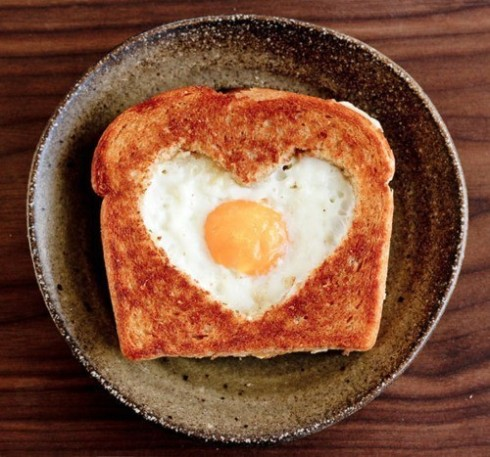 egg on a toast
