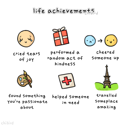 life achievements