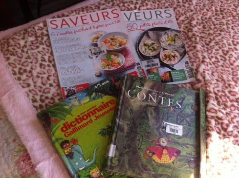 revistas + libros