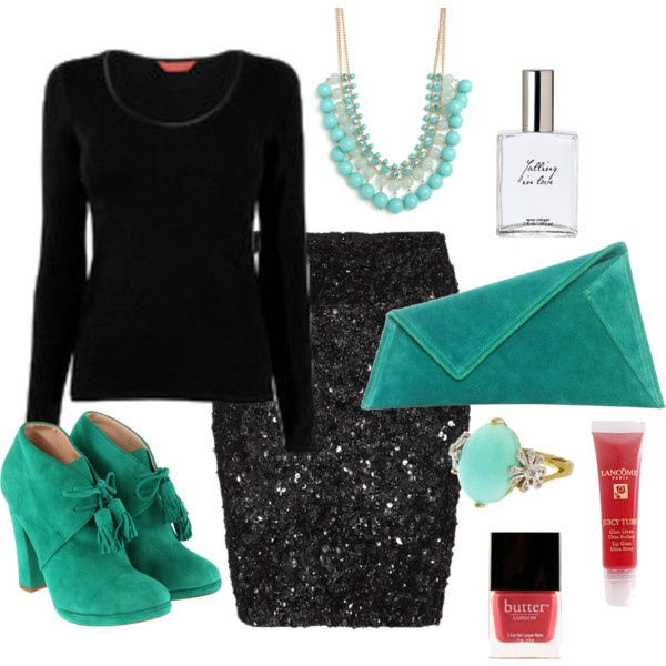 winter night outfit