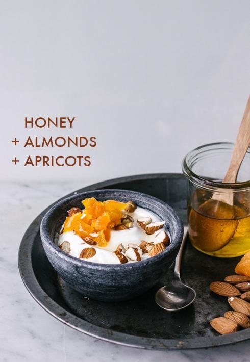 yogurt y miel