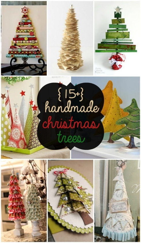 15+-Handmade-Christmas-Trees-SO-CUTE-for-DIY-Christmas-decor