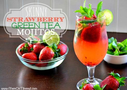 Skinny-Strawberry-Green-Tea-Mojitos-Recipe-Fresh-Strawberries