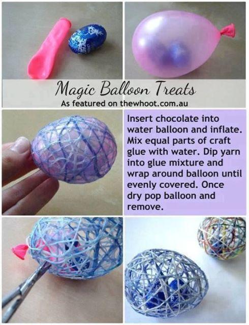 balloon eggs