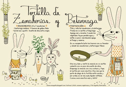 Tortilla de zanahorias y betarragas_Reina Palta_Antonia Cafati y Pati Aguilera