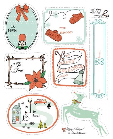 etiquetas de navidad 3