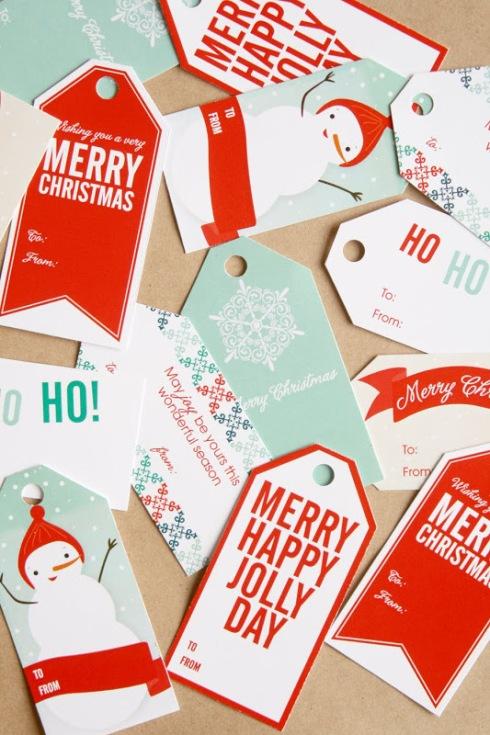 etiquetas de navidad 4