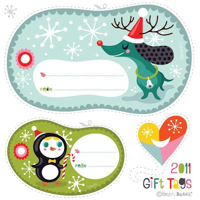 etiquetas de navidad 7