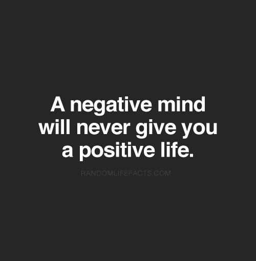 negative mind